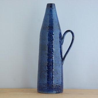 スウェーデン製/NITTSJO/陶器の花瓶の商品写真