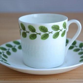GUSTAVSBERG/グスタフスベリ/リンドベリ/FESTONG/コーヒーカップ&ソーサーの商品写真