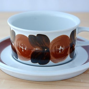 ARABIA/アラビア/Rosmarin/ロスマリン/ティーカップ&ソーサーの商品写真