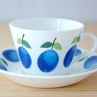 GUSTAVSBERG/グスタフスベリ/PRUNUS/プルーヌス/コーヒーカップ&ソーサーの商品写真