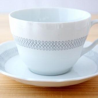 RORSTRAND/ロールストランド/シックな雰囲気のティーカップ&ソーサーの商品写真