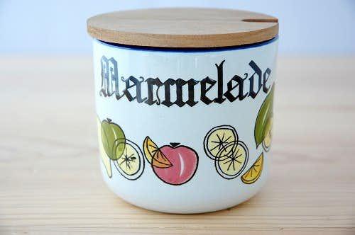 スウェーデンで見つけたジャムポットの商品写真