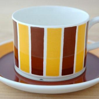Gefle/ゲフル/POLKA/コーヒーカップ&ソーサーの商品写真