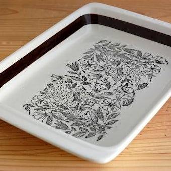GEFLE/ゲフル/FONTANA/フォンタナ/深皿(大)四角型の商品写真