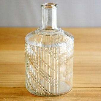 フィンランド/Riihimaen Lasi社/Nanny Still/デザインボトル(クリア)の商品写真