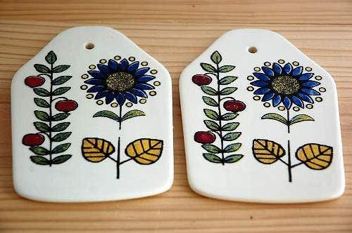 デンマークで見つけたカッティングボード(壁掛け)2枚セットの商品写真