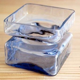 フィンランド/Riihimaen Lasi社/PALAシリーズ/ガラスの花瓶(ライラック)の商品写真