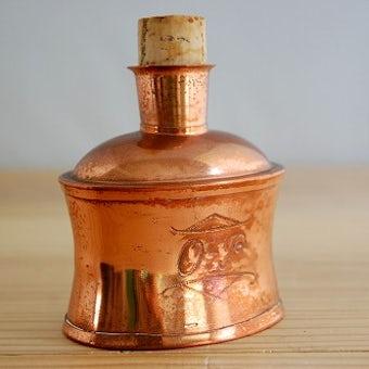 スウェーデンで見つけた古い銅製スキットルの商品写真