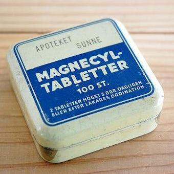 スウェーデンで見つけた小さなアンティーク缶の商品写真