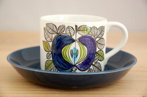 RORSTRAND/ロールストランド/EDEN/エデン/コーヒーカップ&ソーサー(少々難アリ)の商品写真