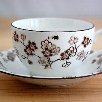 RORSTRAND/ロールストランド/JAPONICA/ジャポニカ/コーヒーカップ&ソーサー(少々難アリ)の商品写真