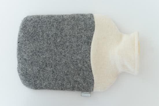 【今季終了】LAPUAN KANKURIT/ラプアン・カンクリ/湯たんぽ/ホワイト×グレーの商品写真