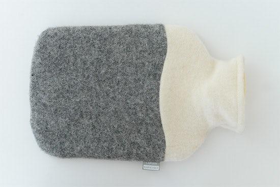 【次回11月入荷予定】LAPUAN KANKURIT/ラプアン・カンクリ/湯たんぽ/ホワイト×グレーの商品写真