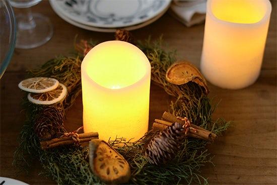 ムーリュミエール/LEDキャンドル(バニラ)の商品写真