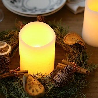【在庫限り取り扱い終了】ムーリュミエール/LEDキャンドル(バニラ)の商品写真