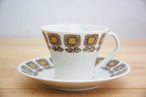 Upsala Ekeby/ウプサラエクビイ/HELIANTHUS/コーヒーカップ&ソーサーの商品写真