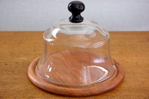 スウェーデンで見つけたガラスチーズドーム(大)の商品写真