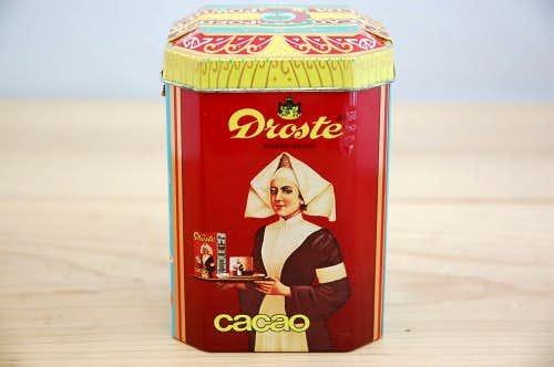 スウェーデンで見つけた古いココア缶の商品写真