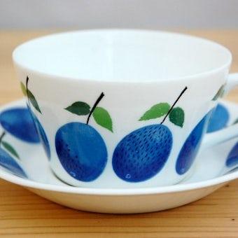 GUSTAVSBERG/グスタフスベリ/PRUNUS/プルーヌス/ティーカップ&ソーサーの商品写真