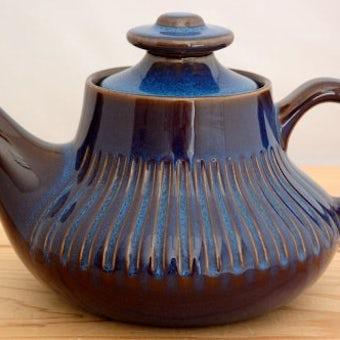 GEFLE(upsala ekeby)/ゲフル(ウプサラ・エクビイ)/KOSMOS/コスモス/ティーポット(茶漉し付き)の商品写真