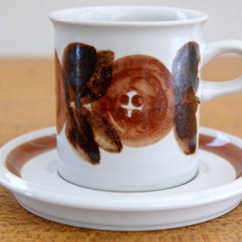 ARABIA/アラビア/ROSMARIN/ロスマリン/コーヒーカップ&ソーサーの商品写真