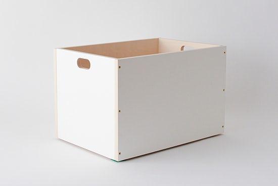 LINDEN BOX/ホワイト(L)の商品写真