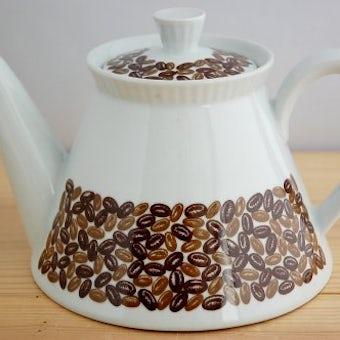 ウプサラエクビイ/KARLSKRONA釜/珍しい陶器のコーヒーポットの商品写真