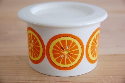 ARABIA/アラビア/ジャムポット(オレンジ小)の商品写真