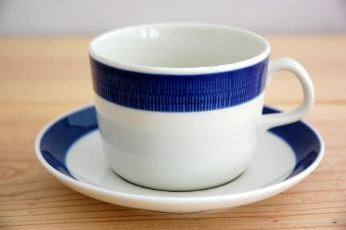 RORSTRAND/ロールストランド/KOKA/コカ/ティーカップ&ソーサー(ブルー)の商品写真