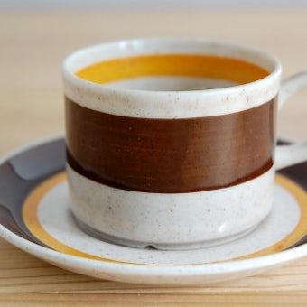 GEFLE(Upsala Ekeby)/ゲフル/ALFA/コーヒーカップ&ソーサーの商品写真