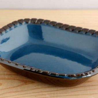 スウェーデン/GABRIEL/ガブリエル釜/珍しい長方形プレート(深皿)の商品写真
