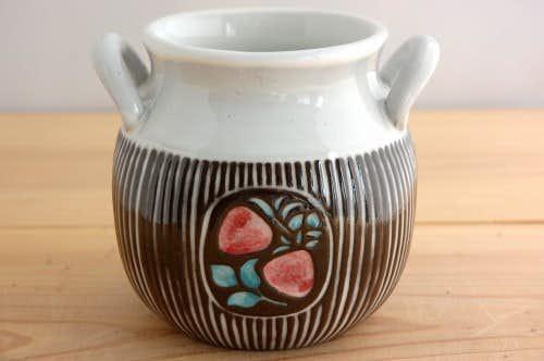 ウプサラエクビイ/Mari Simmulsonデザイン/陶器のジャムポットの商品写真