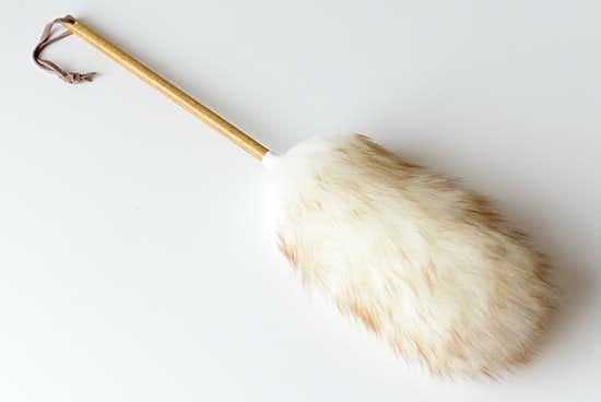 ニュージーランド/ダスター/天然羊毛100%のホコリ取り(L)の商品写真