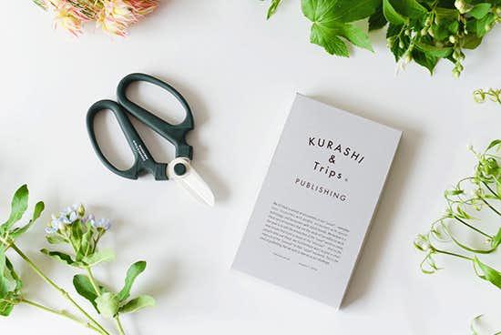 KURASHI&Trips PUBLISHING/【別注】生花ハサミの商品写真