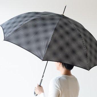 【取り扱い終了】Lisbet friis/長傘/Flower Power mini(ブラック)の商品写真