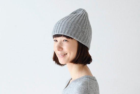 【取扱終了】mature ha. /マチュアーハ/ニット帽(グレー)の商品写真