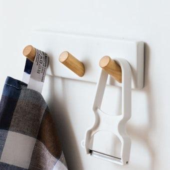 tosca/キッチンツールフック(3WAY/マグネット・吸盤・木ネジ)の商品写真