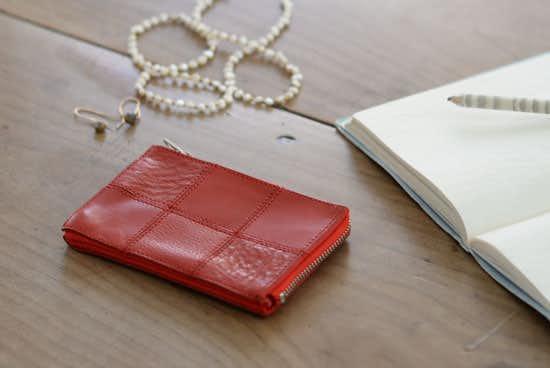 yes/イエス/スクエア/カードケース(レッド)の商品写真