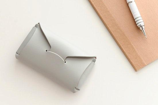 【取り扱い終了】StitchandSew/ステッチアンドソー/カードケース(グレー)の商品写真