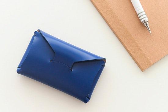【取扱終了】StitchandSew/ステッチアンドソー/カードケース(ブルー)の商品写真