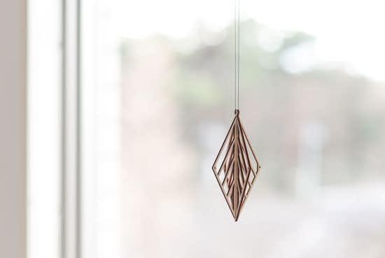 Kito/木製オーナメント/リーフ(small)の商品写真