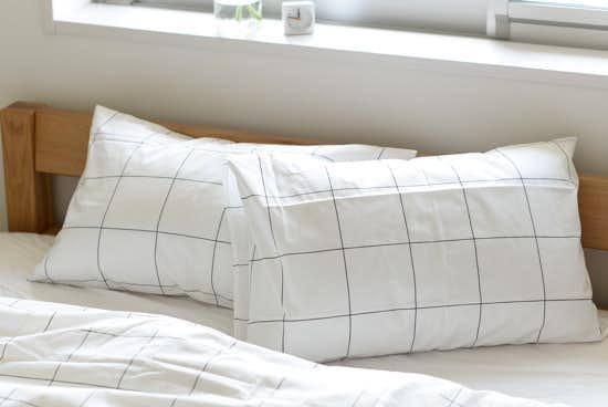 sisdesign/枕カバー/グラフチェック (43cm×63cm)の商品写真