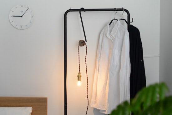【次回8月末入荷予定】eNproduct / ハンガーライト / hanger lightの商品写真