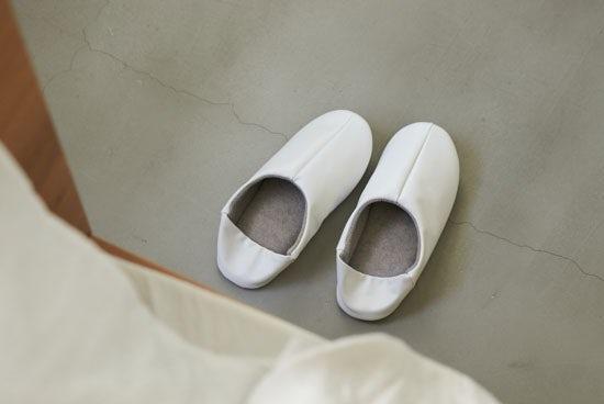 「パイル素材が心地よい」2WAYバブーシュ/ホワイト(M)/KURASHI&Trips PUBLISHINGの商品写真