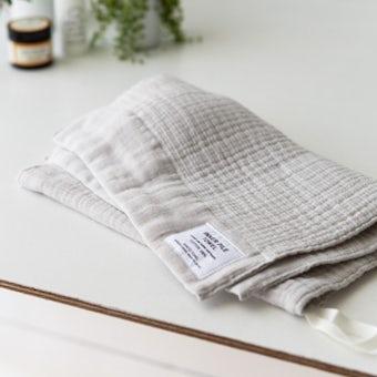 INNER PILE TOWEL / フェイスタオル / アイボリーの商品写真