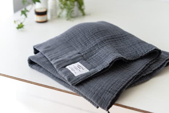INNER PILE TOWEL / バスタオル / チャコールグレーの商品写真
