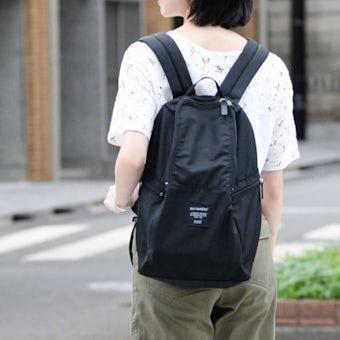 【次回1月入荷予定】marimekko/マリメッコ/METRO/リュック/ブラックの商品写真