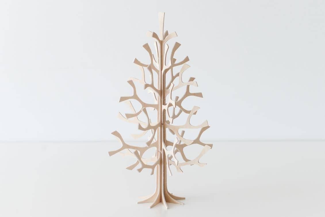 【次回9月頃入荷予定】フィンランド/lovi/ロヴィ/白樺のツリー(モミの木/ナチュラル25cm)の商品写真