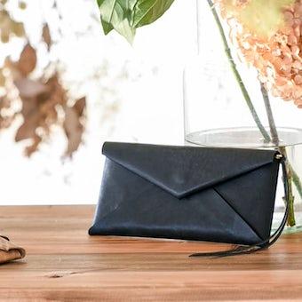 Dono / ドーノ / 長財布(ブラック/チョコ/ベージュ)の商品写真