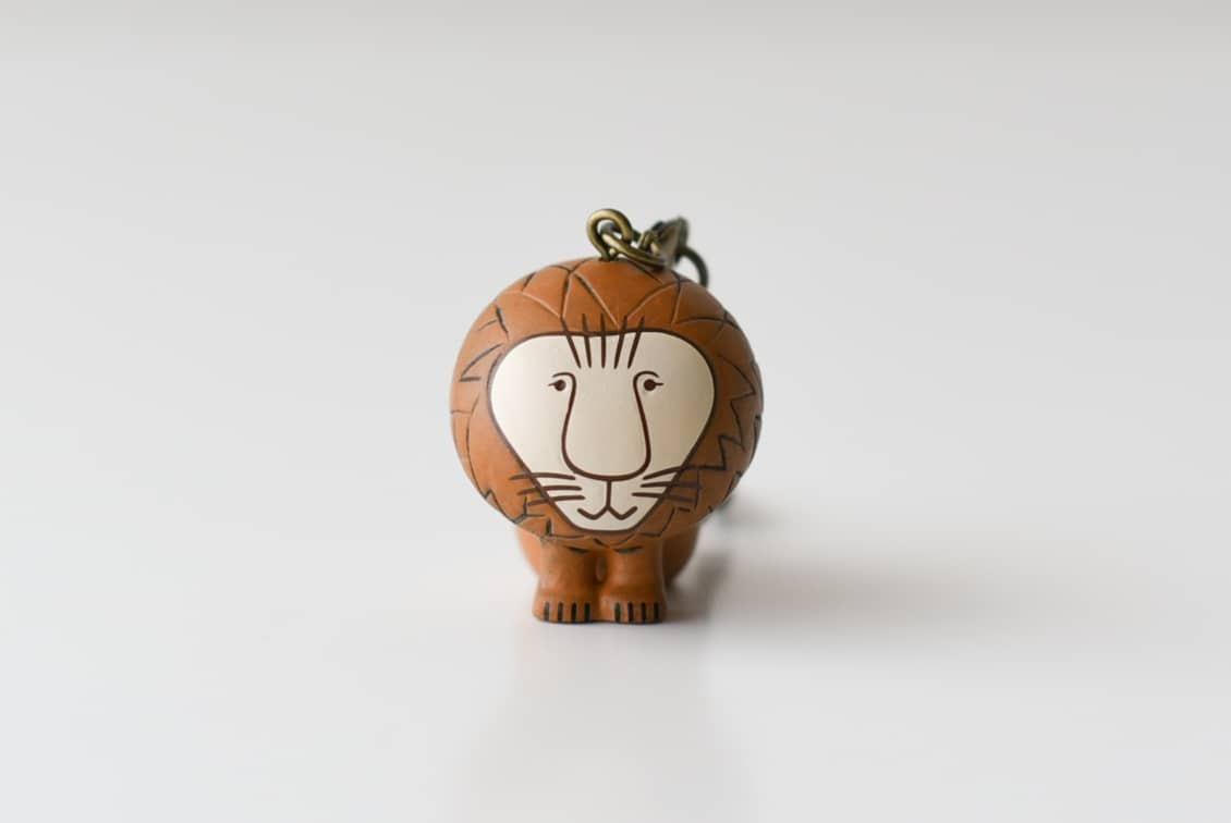 Lisa Larson/リサ・ラーソン/キーホルダー/ライオンの商品写真